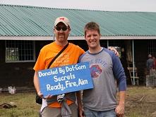 Russell Brunson and Dave Gardner in Kenya