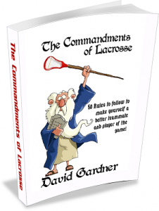 MyEcoverMaker.com Ecover design for lacrosse book