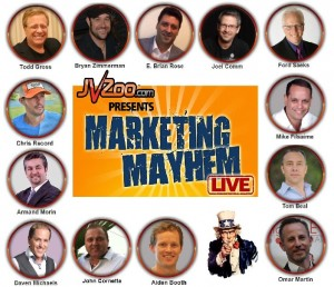 Marketing Mayhem Live