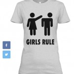 Girls Rule_T-Gray