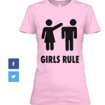 Girls Rule_T-pink