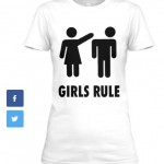 Girls Rule_T-white