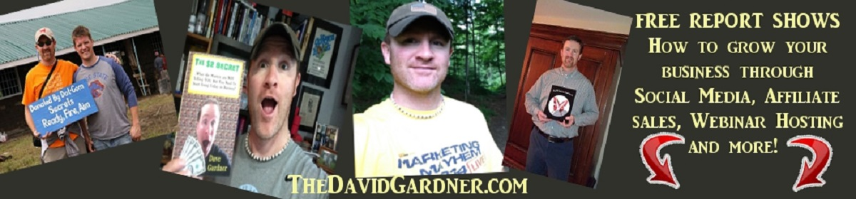 Welcome to TheDavidGardner.com