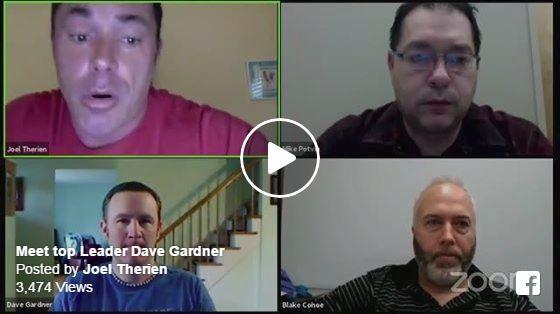 Now Lifestyle webinar guest Dave Gardner