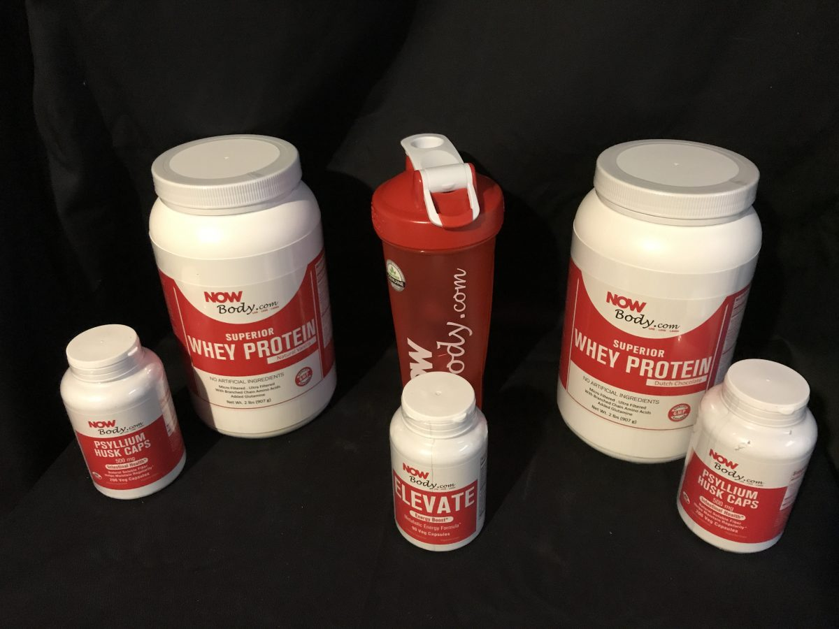 Now Lifestyle Now Body Nutritional Supplements Elevate Package Reveal