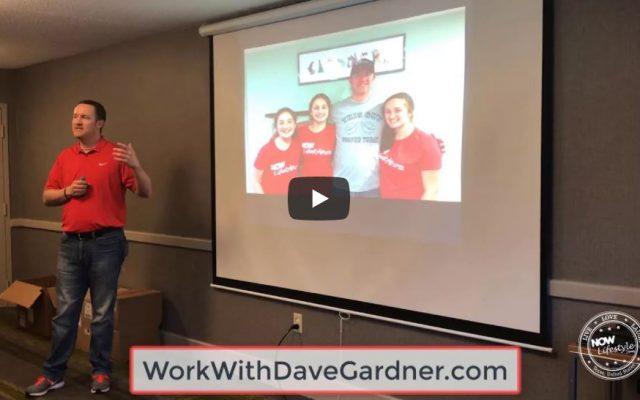 Dave Gardner Speaking at the Now Lifestyle NE Regional event