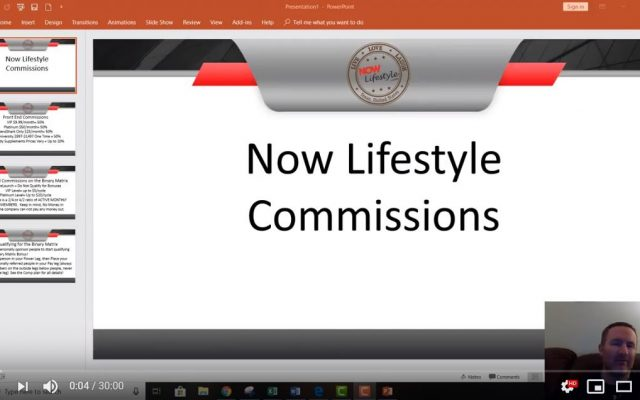Now Lifestyle Commissions