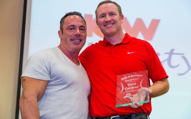 Now Lifestyle Emerald Award Dave Gardner