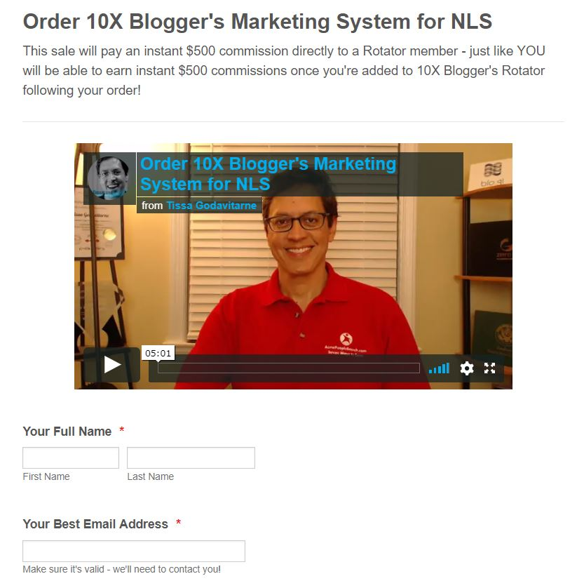Join 10X Blogger with Dave Gardner