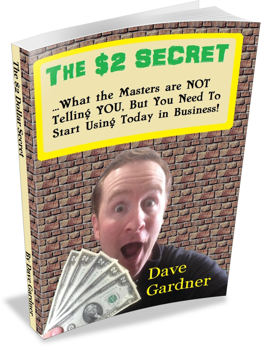 The $2 Dollar Secret Book for marketing strategies