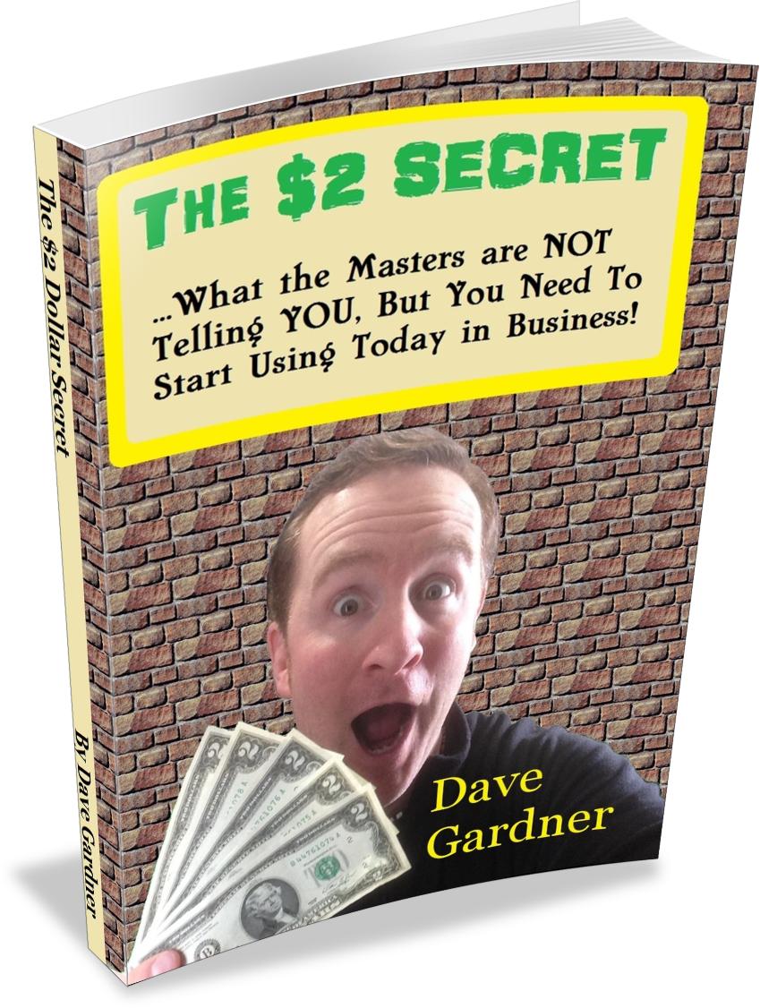 The $2 Dollar Secret Book for marketing strategies