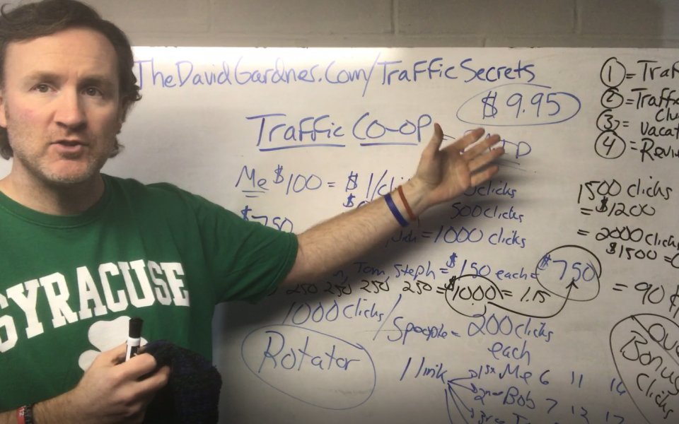 Traffic Co-Op Traffic Secrets