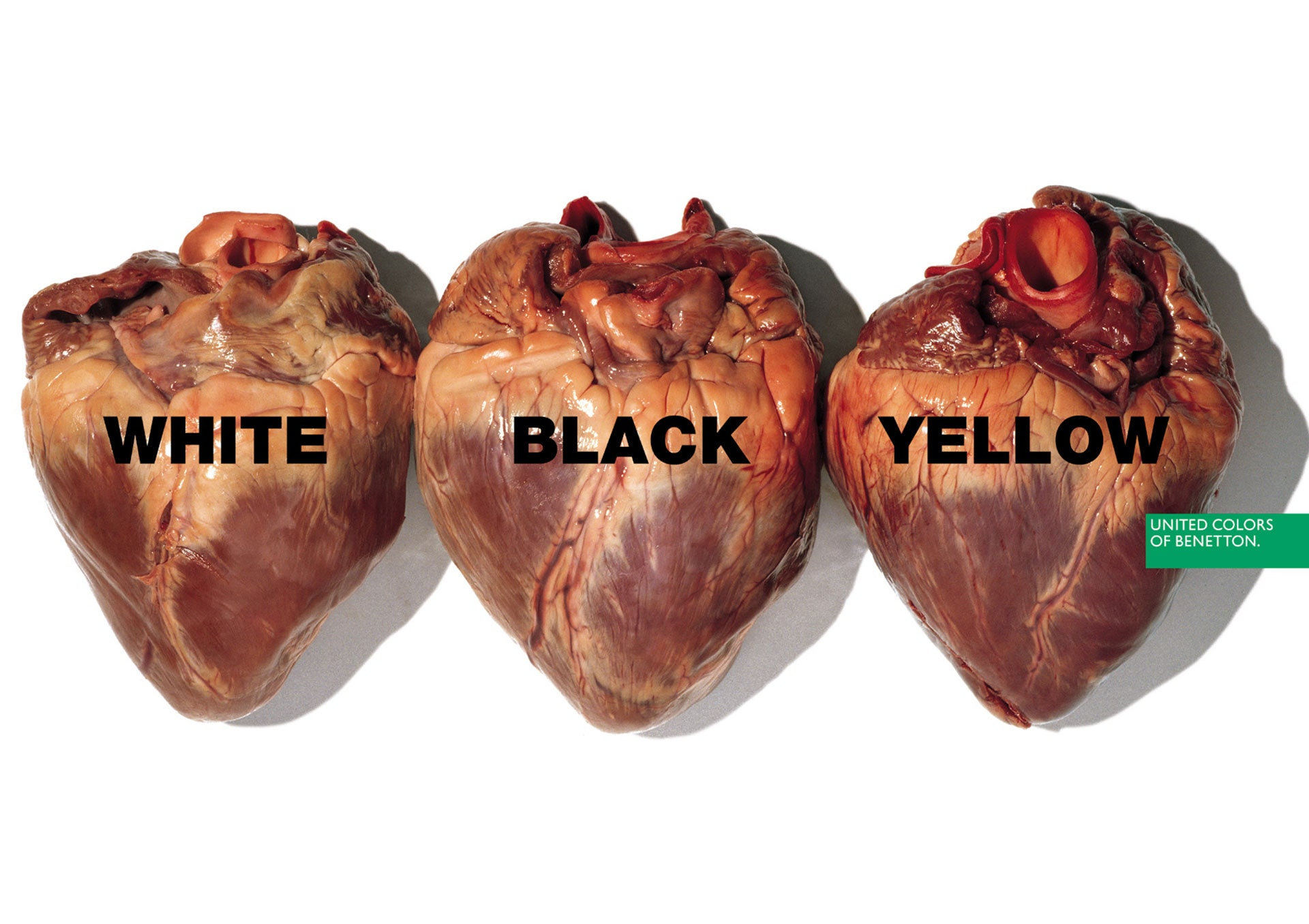 United Colors of Benetton Hearts Ad