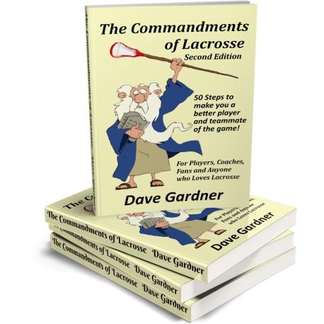Commandments of Lacrosse Book