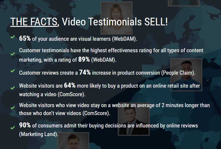 Facts about video testimonials