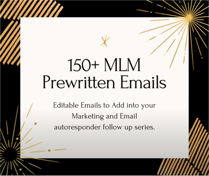 150 MLM emails