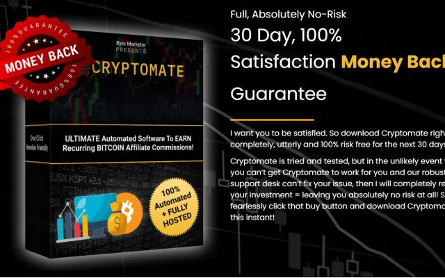 Cryptomate automated blogging affiliate software