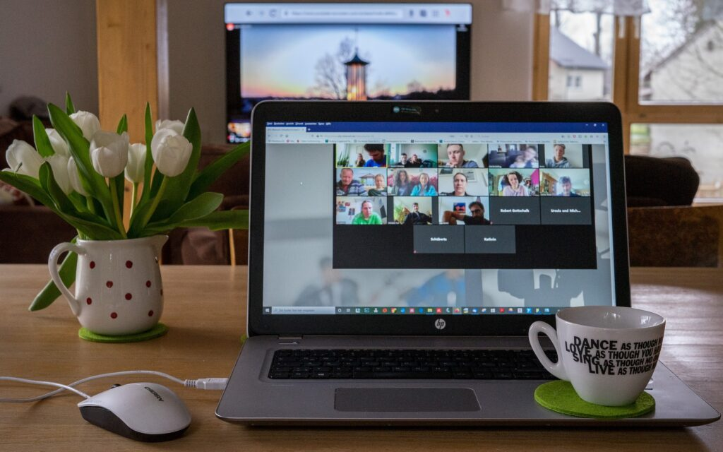 Stay connected with your co workers while working from home