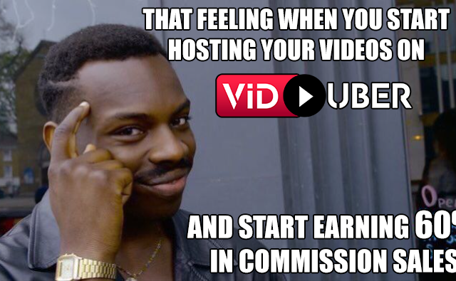 Viduber video hosting and streaming
